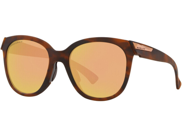 Oakley Low Key Lunettes de soleil Femme, matte brown tortoise/prizm rose gold polarized